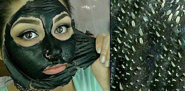 ماسک زغال