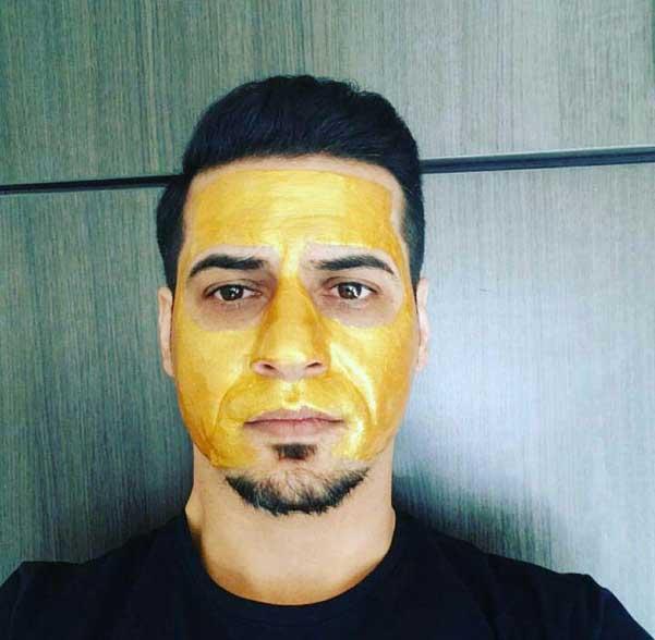 ماسک طلا مکس لیدی