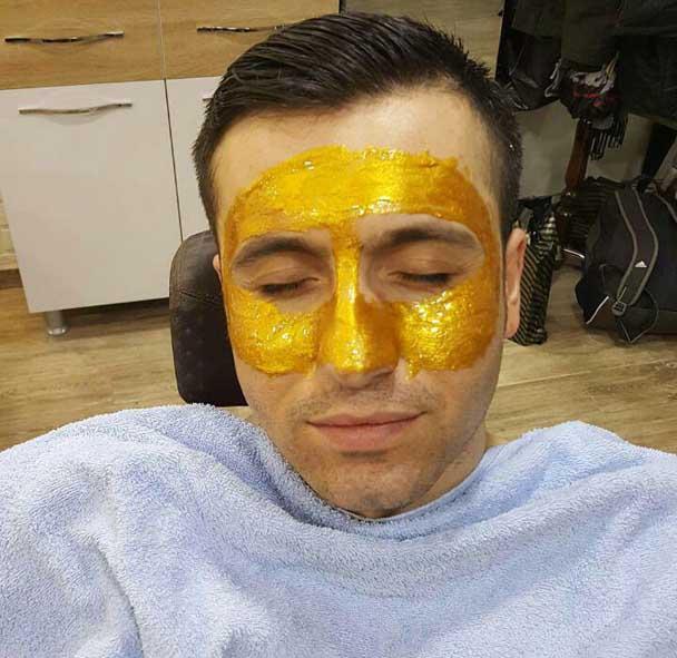 نحوه صحیح استفاده ماسک سیاه و ماسک طلا